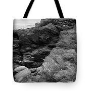 Alone Time Bw Tote Bag
