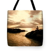 Alone With Your Thoughts Tote Bag
