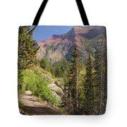 Along St. Mary's Lake Trail Tote Bag