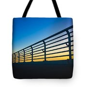 Along The Bridge Tote Bag