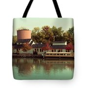 Along The Erie Canal Tote Bag
