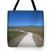 Along The Path Tote Bag