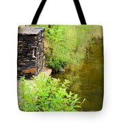 Along The Shallow Water Tote Bag
