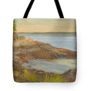 Along The Sound Shore Tote Bag
