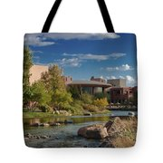 Along The Wild Horse River Tote Bag