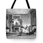 Alphonse De Lamartine Tote Bag