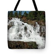 Alpine Falls Glen Alpine Falls Lake Tahoe Tote Bag