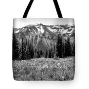 Alpine Meadow Viii At Mount Rainier Tote Bag