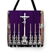 Altar Dresdener Hofkirche Tote Bag