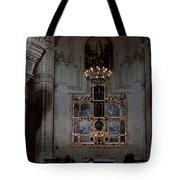 Altar Shadowed And Shining Tote Bag