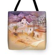 Altea La Vieja In Spain 11 Tote Bag