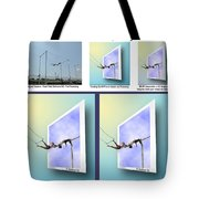 Alternate Universes - Beginning To End Tote Bag