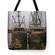 Aluminum Fishing Boats Tote Bag