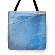 Aluminum Wave Tote Bag