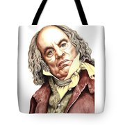 Alun Armstrong Plays Jeremiah Flintwich Tote Bag