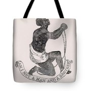 Am I Not A Man And A Brother Tote Bag