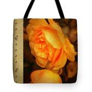 Amber Queen Rose Tote Bag