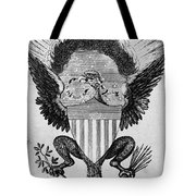 America: Coat Of Arms Tote Bag