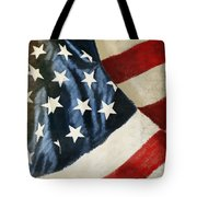 America Flag Tote Bag