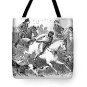 America: Fox Hunt Tote Bag