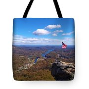 America The Beautiful Tote Bag by Crystal Joy Photography