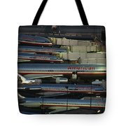 American Airlines Passenger Jets Tote Bag