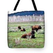 American Buffalo 16 Tote Bag