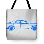 American Car Tote Bag by Naxart Studio