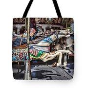 American Carousel Horse Tote Bag