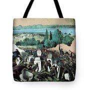American Civil War, Battle Of Baton Tote Bag