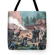 American Civil War, Battle Of Cold Tote Bag