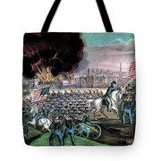 American Civil War, Capture Of Atlanta Tote Bag