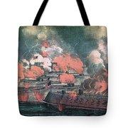 American Civil War, Great Fight Tote Bag