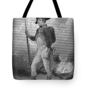 American Continental Soldier Tote Bag