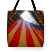 American Flag In Marshall Field's Tote Bag