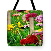 American Goldfinch In The Garden Tote Bag