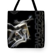 American Horsepower Tote Bag