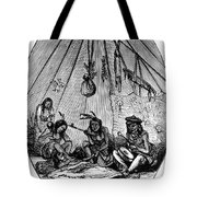 American Indian Medicine Lodge, 1868 Tote Bag