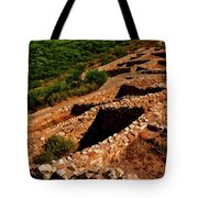 American Indian Patterns Of Living - Greeting Card Tote Bag