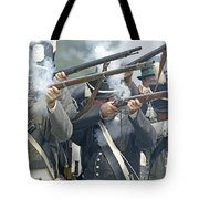 American Infantry Firing Tote Bag