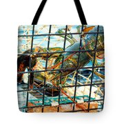 American Lobster In Trap In Chatham On Cape Cod Tote Bag