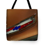 Chevrolet Hood Emblem Tote Bag