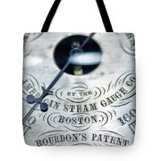 American Steam Gauge Tote Bag