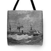 American Steamship, 1870 Tote Bag