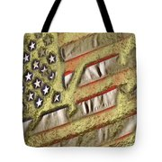 American Streets Of Gold Tote Bag