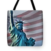 American Welcome Tote Bag