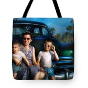 Americana - Car - The Classic American Vacation Tote Bag