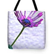 Amethyst Sapphire And Gold Tote Bag