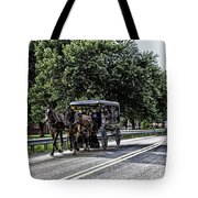 Amish Country - Intercourse Pennsylvania Tote Bag