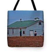 Amish School Tote Bag